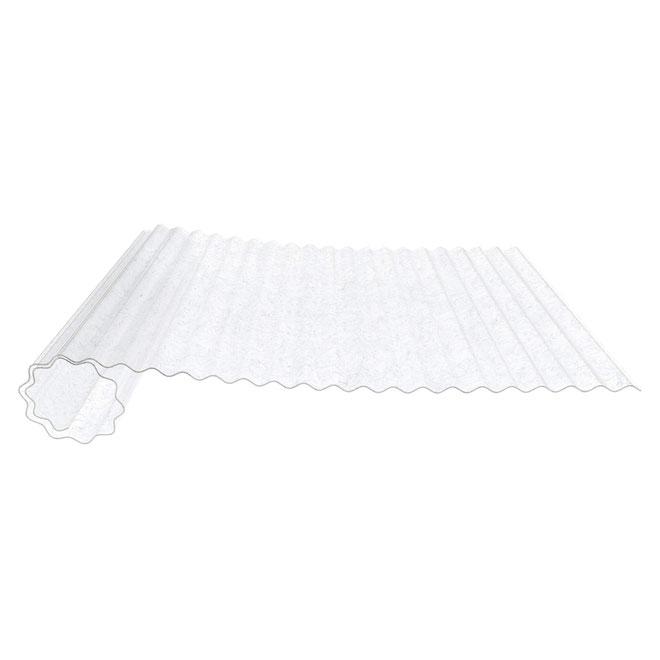HMG lichtdoorlatende golfplaten van polyester op rol