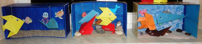 Aquarien in 3D-Gestaltung  1. NMS
