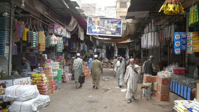 L'immense bazar de la vieille ville