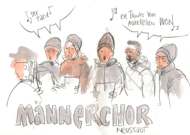 Urban Sketching: © Anne Nilges www.nilges.info