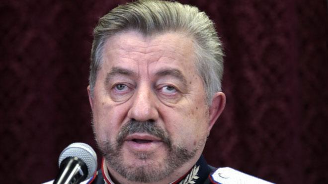 Депутат Водолацкий смотрит в будущее казачьего народа.
