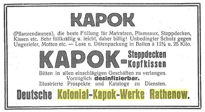 Kolonial-Kapok-Werke
