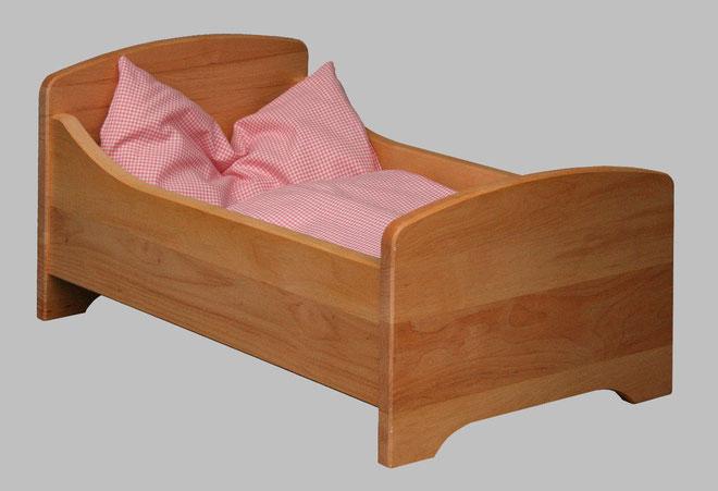 Puppenbett aus Erle von SCHÖLLNER