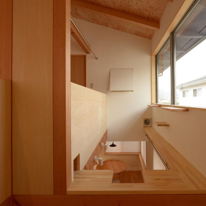 安曇野市 長野県 松本市 建築家 news設計室 丸山和男 大町市 キャットウォーク キャットステップ 住宅設計 小住宅 猫と暮らす家づくり 猫と暮らす家