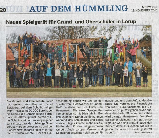 EMS-Zeitung vom 18.11.2015