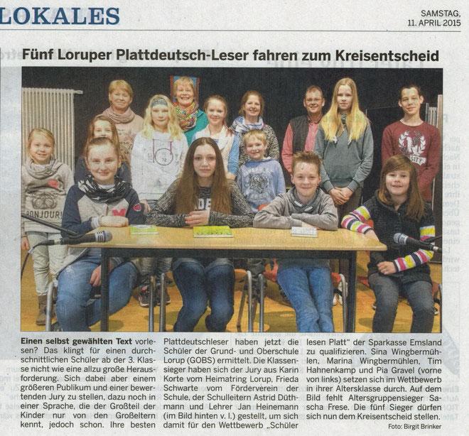 EMS-Zeitung vom 11.04.2015