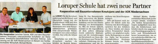 Artikel NOZ vom 08.10.2014