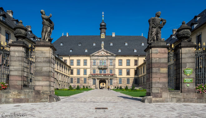 Das Stadtschloss von Fulda - Haupteingang