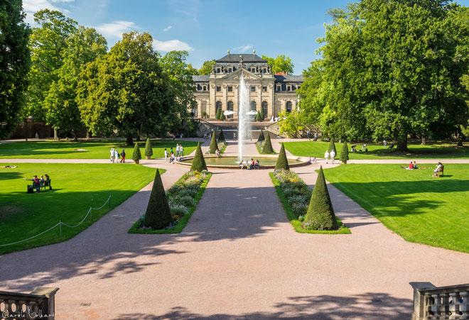 Der Schlossgarten von Fulda