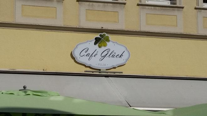 Cafe Glück in Fulda :-)