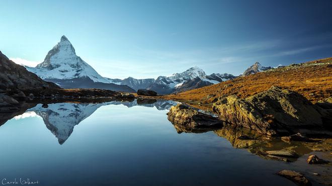 Riffelsee mit Matterhornspiegelung