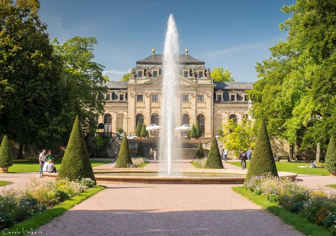 Die Orangerie im Schlossgarten von Fulda