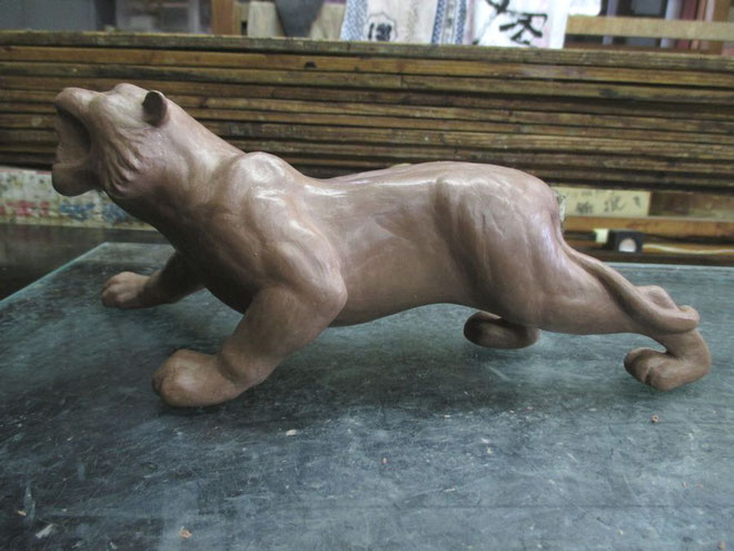 虎 粘土型