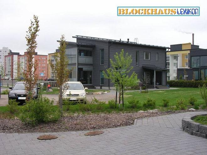 Blockhäuser bauen - Holzhäuser in Blockbauweise - Blockhausbau - Stadtvilla - ökologisches Blockhaus - Architektenhäuser - Designhäuser - Ökohäuser - Allergikerhaus - Biohaus - Raumklima - gesund bauen und wohnen in Deutschland