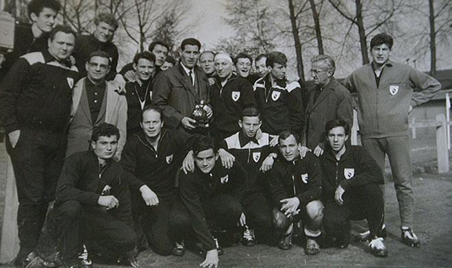 Mai 1964 : Le Rugby Club Bastiais termine premier du tournoi international de Bruxelles avec le Stade Français