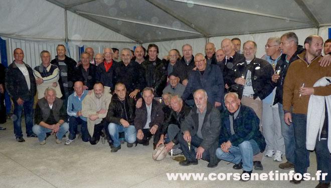 Les pionniers du rugby bastiais étaient présents dimanche au Casone