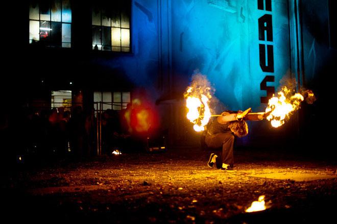 """Feuerschlucker Feuerspucker """"Fantômes de Flammes"""""""