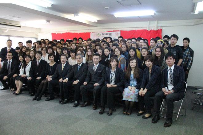 2013年4月生 入学式(美都里慕日本语学校)