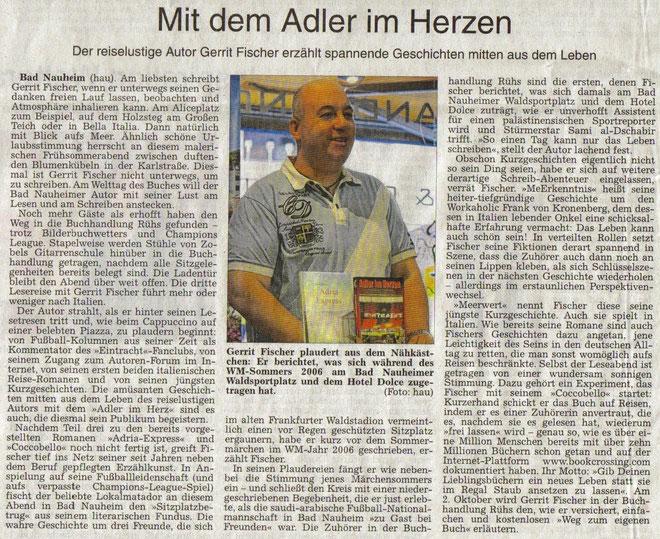 Wetterauer Zeitung vom 26. April 2014