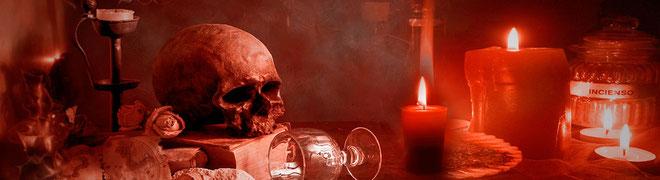 velaciónes satánicas, para la ruina, mala suerte, desesperación de una persona. Misa negra, satanismo, ritual satánico, brujería negra, magia negra, santería