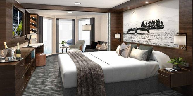 Alle Kabinen der MS Richard With werden renoviert & modernisiert // © Hurtigruten
