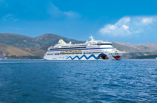 Alle Infos zu AIDAaura // © AIDA Cruises