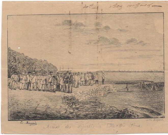 D36 - Une illustration extraite du premier Album de l'île des Pins (n° 4)
