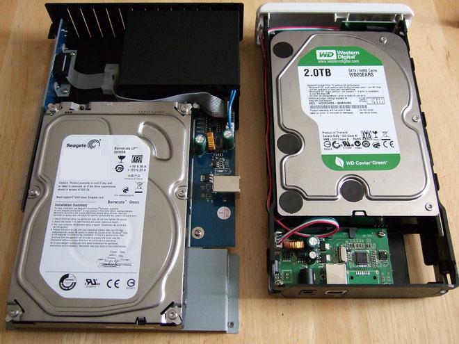 ハードディスクからデータ復旧