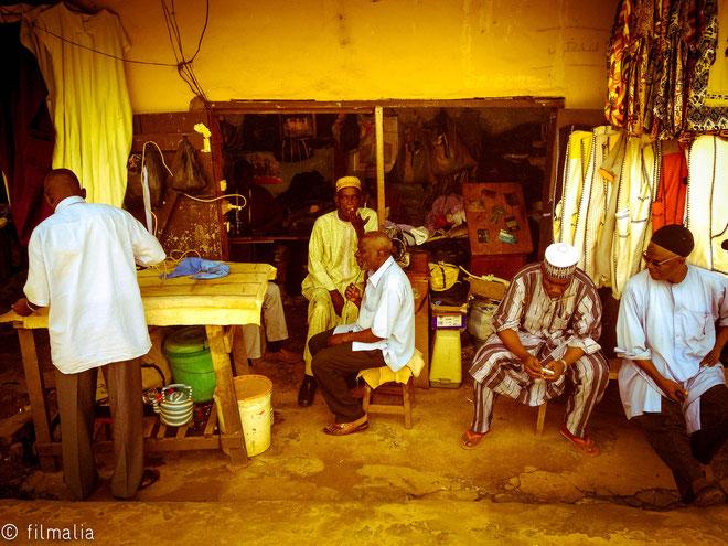 Pasando la tarde. Dakar. Senegal.
