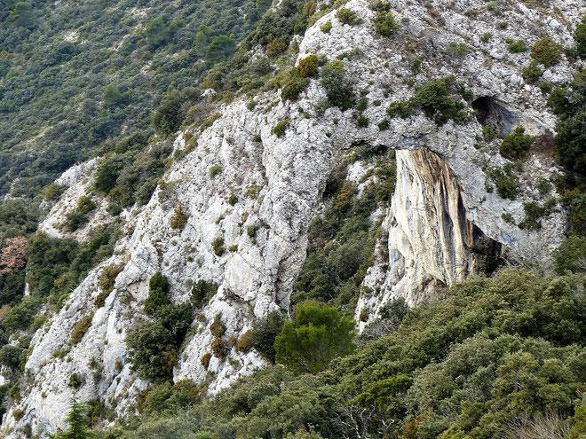 La grande Arche du Portalas : 24 mètres de hauteur