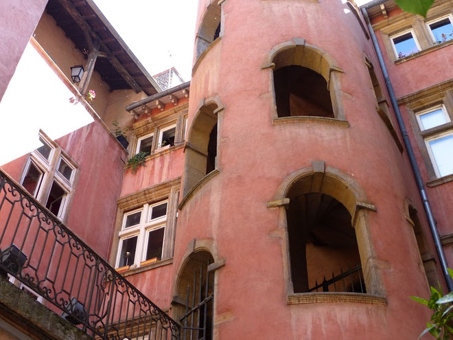Les superbes Traboules du Vieux Lyon