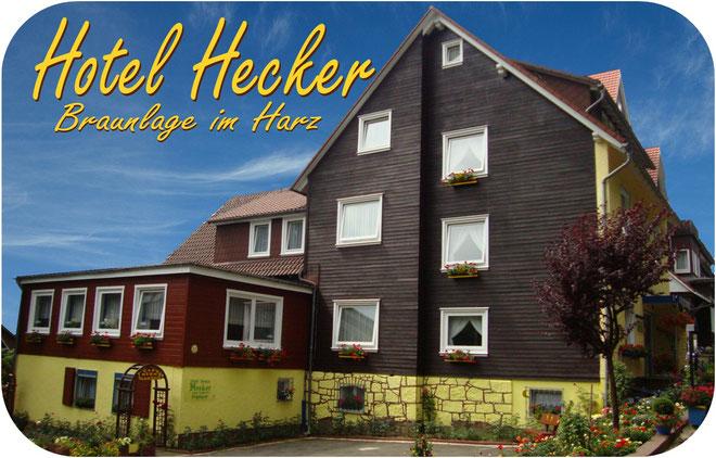 Hotel Hecker Braunlage, Hauptansicht