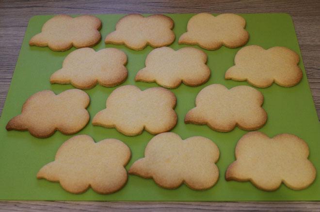 Sprechblasen-Kekse