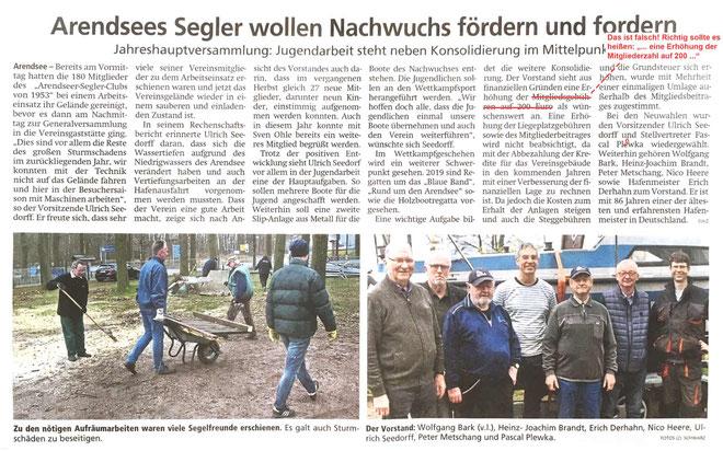 Altmarkzeitung vom 26.03.2019