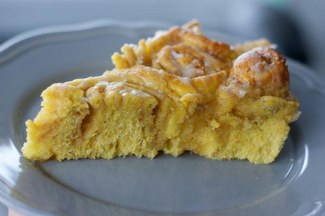 Kürbis-Zimtschnecken-Kuchen