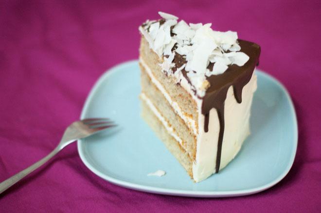 Kokos-Bananen-Torte