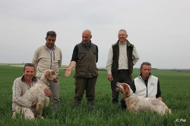 Nos amis Pierre Avellan, Yves Tastet et Vladimir Démaretz les 3 juges du barrage final