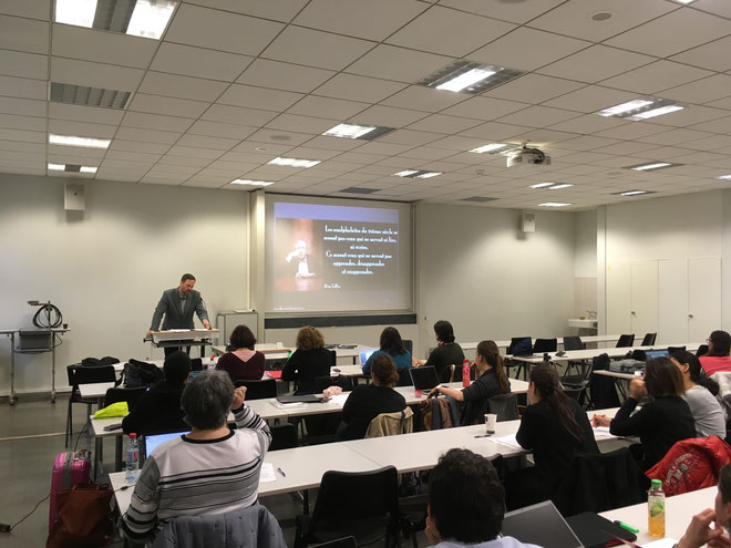 Lecture to Master's Students at the University of Geneva, 9.3.17