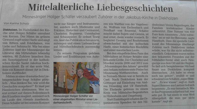 ©Hildesheimer Allgemeine Zeitung, 16.10.2017