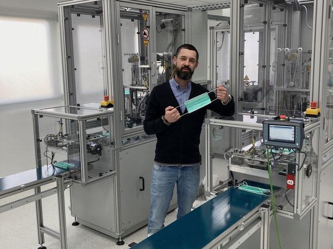 Gründer und Unternehmer Nico Feichtinger © Typ IIR GmbH