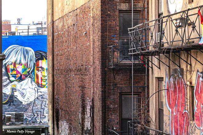 High Line Park vew, New York