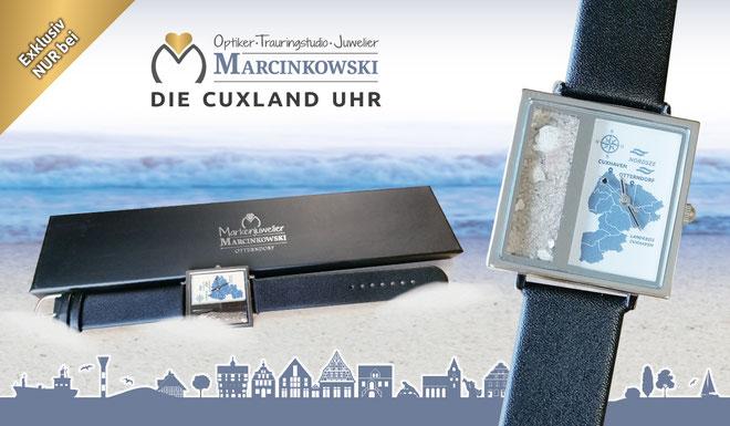 Uhren und Schmuck – die Cuxland Uhr von Marcinkowski aus Otterndorf