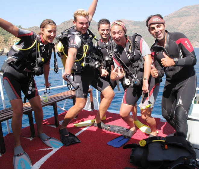 divemaster in Turkey
