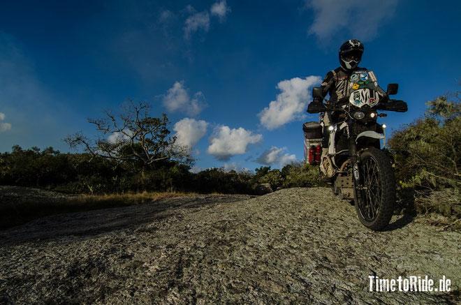 Uruguay - Südamerika - Reise - Motorrad - Honda Transalp - Auf dem Weg zur Laguna Negra