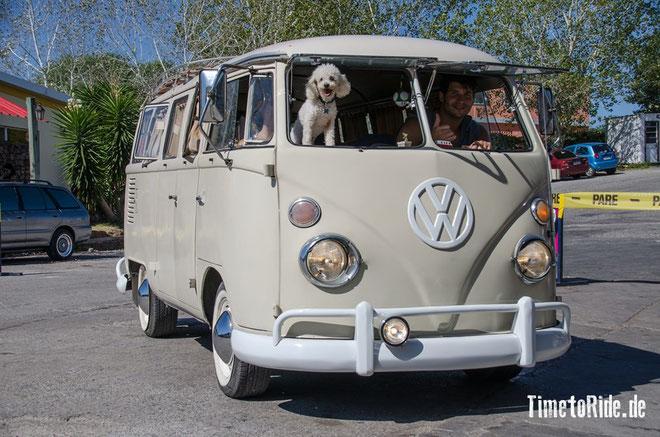 Uruguay - Südamerika - Reise - Motorrad - Honda Transalp - Hier sieht man noch viele alte VW Bullies