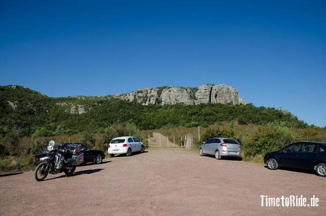 Uruguay - Südamerika - Reise - Motorrad - Honda Transalp - Cerro Arequita