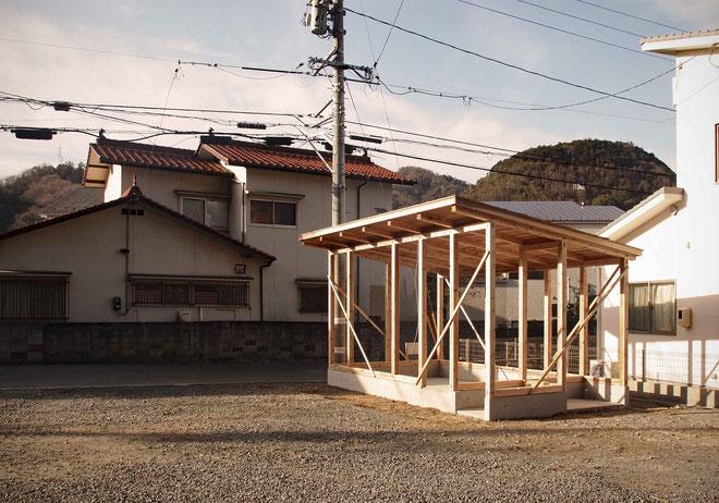 石屋さんの事務所 建前