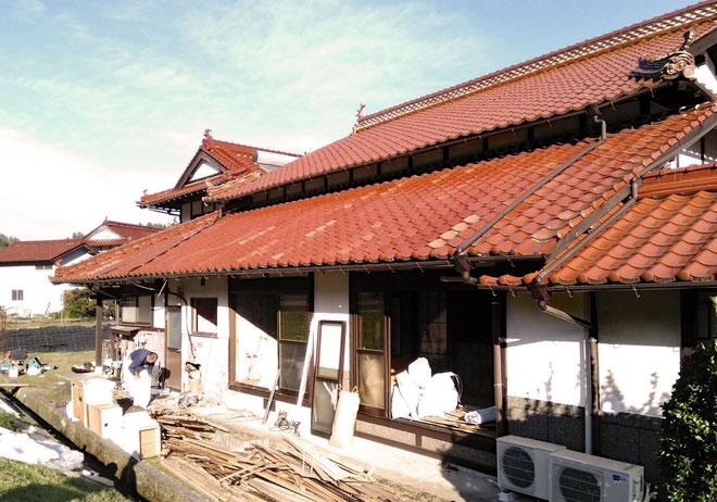 白木町の家、古民家再生工事スタート