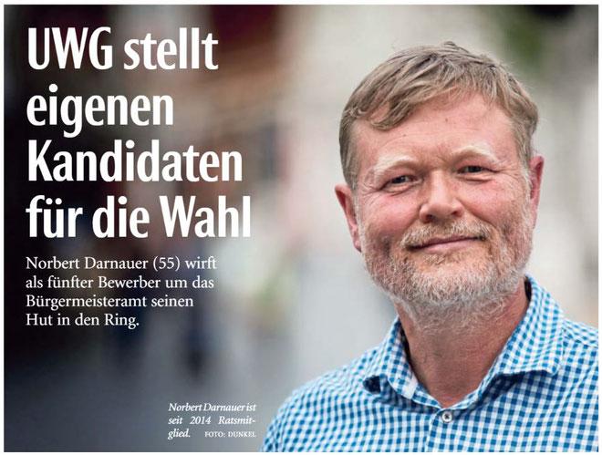 Mit freundlicher Genehmigung der Neuen Westfälischen (Artikel vom 19.05.2020)