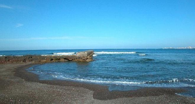 Badebucht Palm Mar im Süden der Insel Teneriffa.